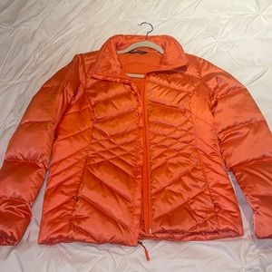 NORTH FACE orange jacket. MOVING SALE!